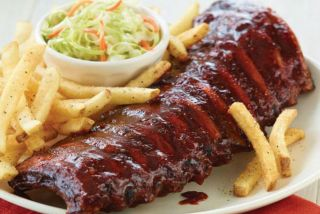 Double-Glazed Ribs Medio Costillar