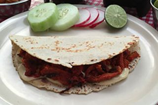 Mixta de Adobada (Tortilla Maiz)